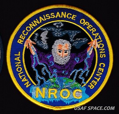 Nro - Nroc - National Reconnaissance Operations Center - Usaf Patch