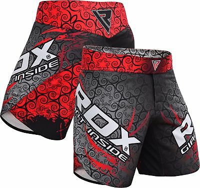 Men's Clothing Rdx Mma Shorts Training Cage Fight Grappling Martial Art Muay Thai Trunks Ca