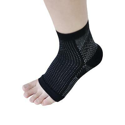 Foot Compression Sleeve Anti Fatigue Angel Circulation Ankle Swelling Relief +