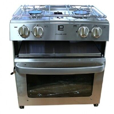 Voyager Cooker 4500 Oven, Hob & Grill W/ Ignition LPG Boat / Caravan/ Motorhome