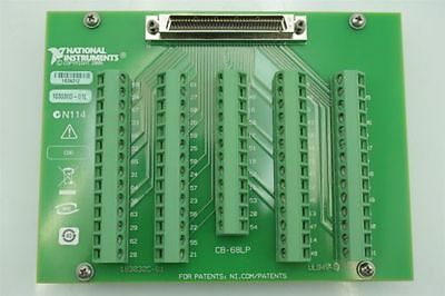 National Instruments CB-68LP Unshielded 68-Pin Terminal Connector Block Board
