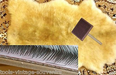 For Wool Carder Felting or Hand Carders Pairs Spinning Handmade Wood and plywood