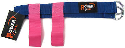 'PINK' Fuchsia Butt/Glute Foot Strap Butt Shaping Exercise Physio/Yoga/Fitness