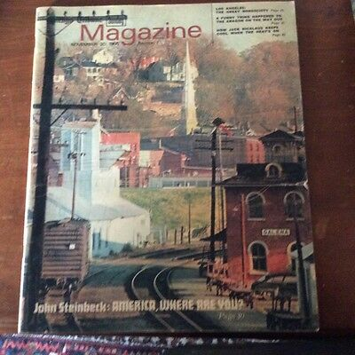 Vintage Chicago Tribune Sunday Magazine, November 20, 1966
