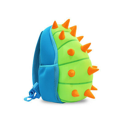 NOHOO Cartoon Dinosaur Children Kids Bag For Boys Girls School Backpack Blue