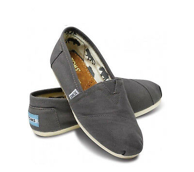 Tom's Classics Ash Gray Women Shoes. Brand New With Tag. All Sizes