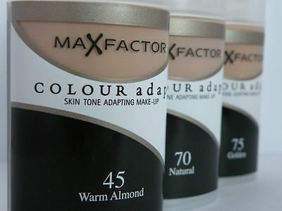 Max Factor Colour Adapt Skin Tone Adapting Makeup Foundation ~~ Choose Shade ~~