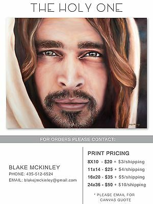 "LDS Art ""The Holy One"" Jesus Christ Print"