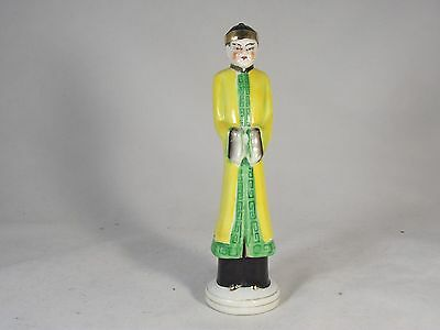 Vintage Occupied Japan Pocelain China Man Collectible Rare Unique Exc.