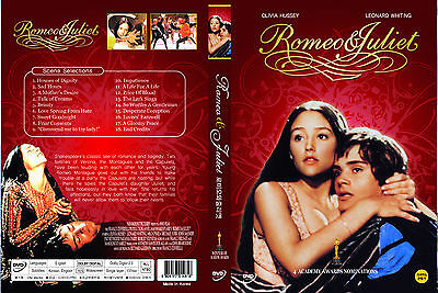 Romeo and Juliet,1968 (DVD,All,Sealed,New,Keep Case) Olivia Hussey