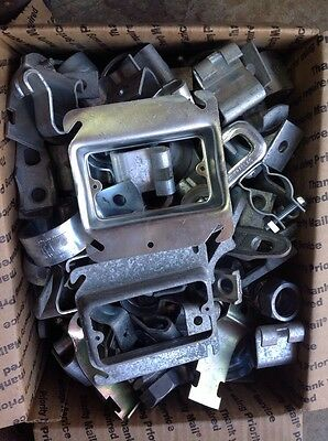 Medium Flat Rate Box Full Of Miscellaneous Electrical Fittings # 3 (lot S18)