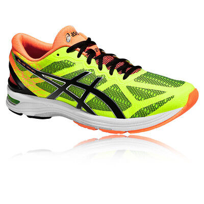 ASICS GEL-DS Trainer 21 Mens Orange Yellow Running Road Sports Shoes Trainers