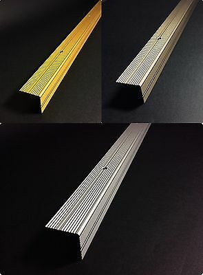 30x30 Anodised ALUMINIUM ANTI NON SLIP STAIR EDGE NOSING -TRIM-STAIR NOSING