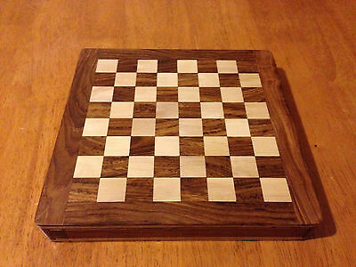 "Premium Quality Magnetic Chess Set: 25cm x 25cm board (10"")"