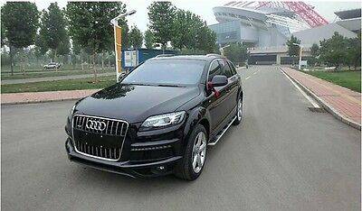 suitable fit Audi Q7 2006-2015 stainless steel running board side step Nerf bar