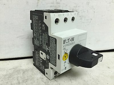 Eaton XTPR032BC1 Manual Motor Protector, Rotary Type, Frame B, Class 10, Used