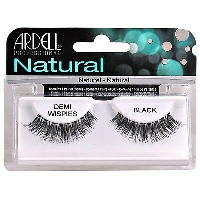 Ardell Naturals Cils False Faux Lash Cosmétique Salon Demi Wispies Black
