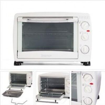 Igenix New White Mini Oven Without Hotplate 1500W | 26L
