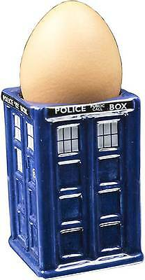 Doctor Who Tardis Egg Cup Gift Geek Dr.Who Kitchen Nerd Collectors