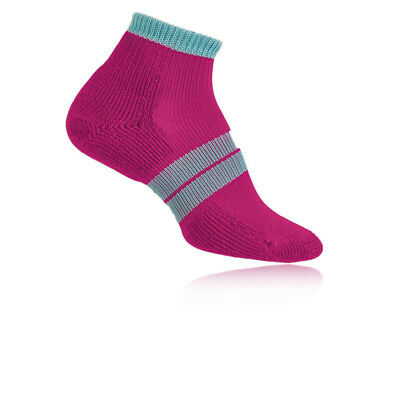 Thorlo Thick Cushion Crew Womens Pink Running Anklet Sports Trainer Socks