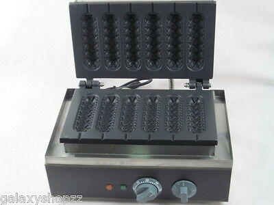 Commercial electric muffin French hot dog making machine,waffle machine