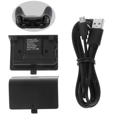 New NI-MH 8800MAH Charger Kit Rechargeable Battery Pack + USB Cable For Xbox One