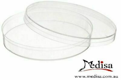 20pcs Plastic Petri dishes with lid 90*14mm, Pre-sterile Polystyrene 20Pcs/Pack