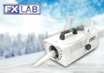 FXLAB White Party & Event Snow Storm II Artificial Snow Effects Machine & Remote