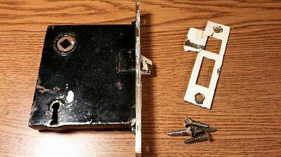 Vintage Metal Door Lock & Hardware