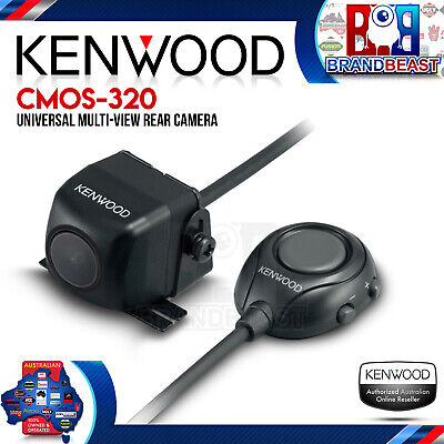 Kenwood Cmos-320 Advanced Rear View Back Up Camera Multi-viewing & Cmos Optics