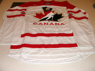 2016 World Juniors Championship Team Canada White Jersey Player WJC IIHF Small
