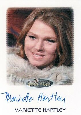 Women Star Trek 2010 Mariette Hartley as Zarabeth Auto Card