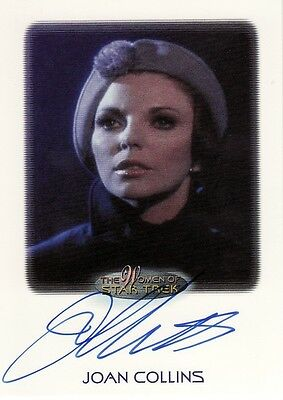 Women Star Trek 2010 Joan Collins as Edith Keeler Auto Card