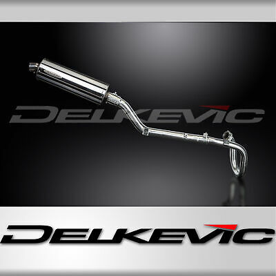 OVAL 350mm STAINLESS STEEL SILENCER COMPLETE FULL EXHAUST SYSTEM DR-Z400S 00-08
