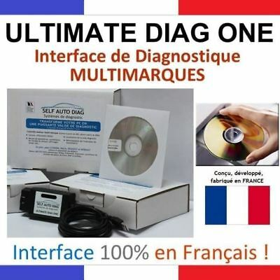 ULTIMATE DIAG ONE - Diagnostique Auto Multimarques - Valise Diag Auto OBD2