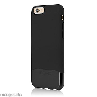Incipio EDGE CHROME Slider Case with Chrome Finish for iPhone 6 and 6S Black