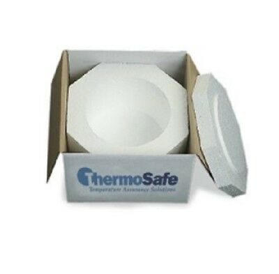 ThermoSafe 318 EPS Foam Multi Purpose Dome Style Insulated Shipper Container ...