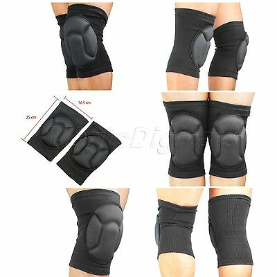 Motocross Skate Knee Cap Pad Padded Protector Brace Support Guard Patella Sports