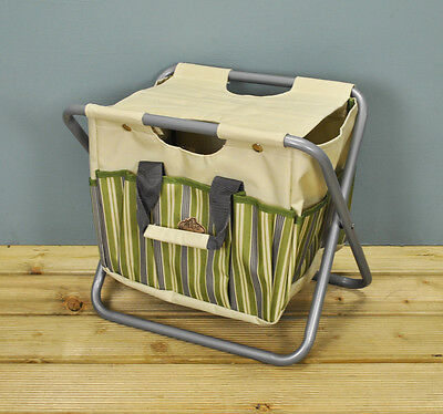 Fallen Fruits Garden Bag and Tool Storage Stool