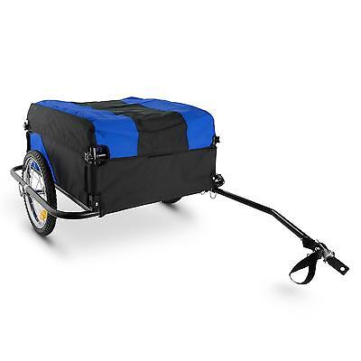 Mountee Bicycle Trailer Foldable Carrier 130L 60Kg Steel Tube * Free P&p Uk Deal