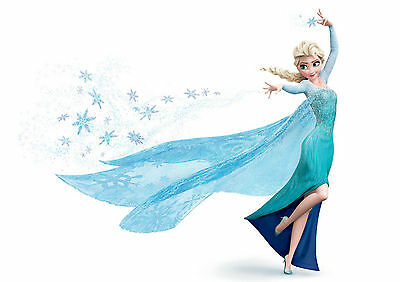 Sticker Autocollant Poster A4  Disney La Reine Des Neiges.snow Queen.elsa.3.