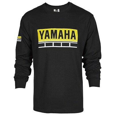 Yamaha 60TH Anniversary L/S T-Shirt in Black - Size X-Large - Brand New