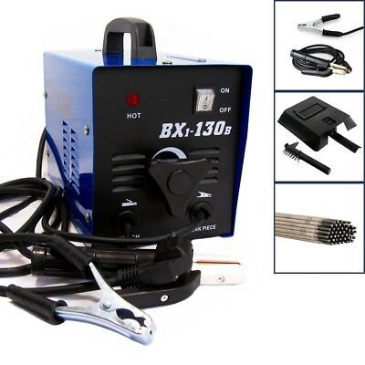 Mma 130A Ac Arc Stick Welder Portable Welding Machine + Electrodes