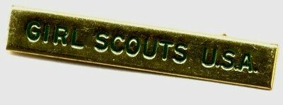 1960s Official Adult Girl Scouts U.S.A.,  I.D. Pin for Uniform BARGAIN PRICE