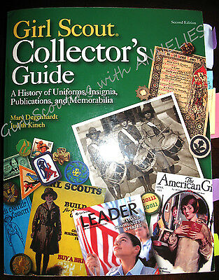 NEW Girl Scouts COLLECTOR'S GUIDE Special Book Catalog Historians, Leader GIFT