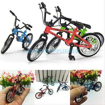 Skate Finger Bike Mini Skateboard Die Cast Set Deck Toy Child Kid Wheel BMX Gift