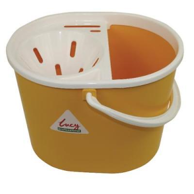 Coloured Plastic Mop Bucket with Wringer, Cheap Janitorial Cleaning Suppliers