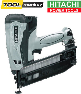 Hitachi NT65GB 16 Gauge 16G 2nd Fix Cordless Angled Finish Brad Nailer