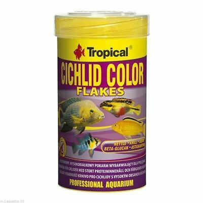 SPECIALIST PROFESSIONAL FISH FOOD FOR CICHLIDS (With Natural Colour Enhancers)