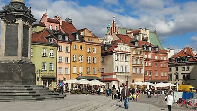 3-days in Warsaw,capital of Poland, city of Madame M. Curie and F.Chopin on b&b